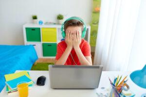 子どものゲーム障害の様子